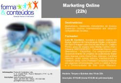 Formação em Marketing Online